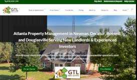 GTL Real Estate.: Property management for Atlanta, Newnan, Decatur ...