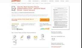 Harvard Travel Portal