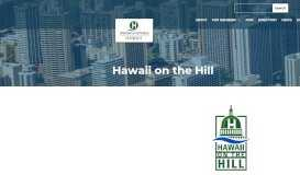 Hawaii on the Hill - Chamber of Commerce Hawaii