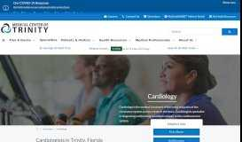 Heart and Vascular Care | Medical Center of Trinity