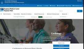 Heart & Vascular | Regional Medical Center Bayonet Point | Hudson, FL