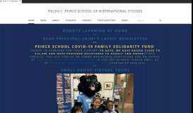 Helen C. Peirce School of International Studies - Home
