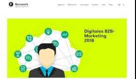 Herausforderungen des digitalen B2B-Marketings 2018 | Reizwerk ...
