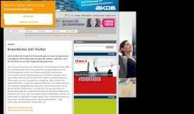 Hessen: Erweitertes ESF-Portal | Kommune21 - E-Government ...