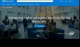 Higher Education IT Solutions I Dell EMC   Dell EMC US