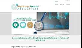 Hightstown Medical Associates | Comprehensive Medical Care ...