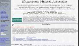 Hightstown Medical Associates