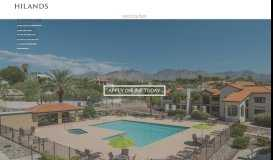 Hilands | Tucson AZ Apartment Homes