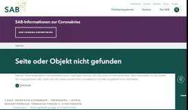 Hilfe und Tipps zu SAB-Online | Sächsische AufbauBank (SAB)