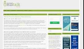 HIStalk Practice Advisory Panel 6/27/12 – HIStalk Practice