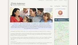 Holy Redeemer Family Medicine: Home