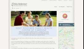 Holy Redeemer HealthCare at Cardone: Home