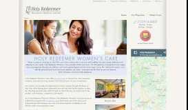 Holy Redeemer Women's Care: Home