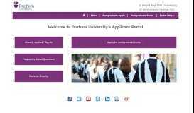 Home · Application Portal