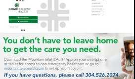 Home - Cabell Huntington Hospital - Huntington, WV