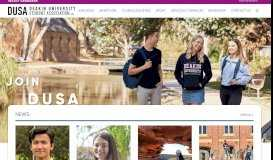 Home - DUSA   Deakin University Student Association