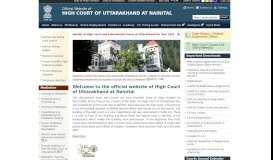 Home: HIGH COURT OF UTTARAKHAND