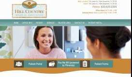 Home | Hill Country Medical Associates | New Braunfels TX