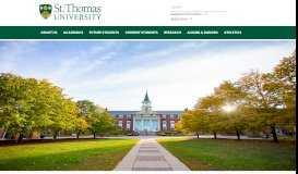 Home - St. Thomas University - Fredericton, NB Canada