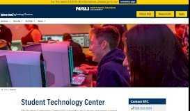 Home - Student Technology Center - NAU