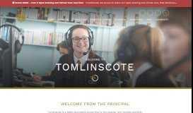Home - Tomlinscote School & Sixth Form college