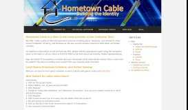 Hometown Cable: Home