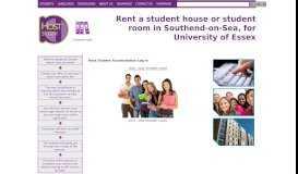 Host Student Accomodation Login