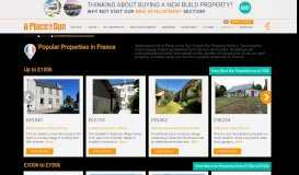 Hot Properties for Sale in France - A Place in the Sun