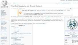 Houston Independent School District - Wikipedia