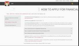 How to Apply for Financial Aid - Harvard-Westlake School