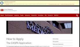 How to Apply | Physician Assistant Program - Boston University