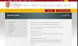 How To & FAQ - University of St. Thomas
