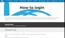 How to login - MCC Sunday School