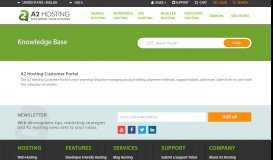 How to manage account security on the Customer Portal - A2 Hosting