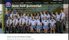 How to use the Parent Portal | Thomas Hassall Anglican College