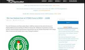 How You Can Check Your 2019 JAMB Result on www.jamb.org.ng ...