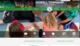 Howell Township Public Schools