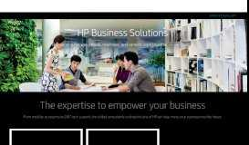 HP Business Solutions | HP® United Kingdom - HP.com