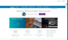 HP Support for Technical Help and Troubleshooting | HP® Customer ...