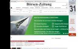 HUGO BOSS AG Geschäftsberichte - boersen-zeitung.de ...