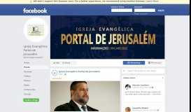 Igreja Evangélica Portal de Jerusalém - Posts | Facebook