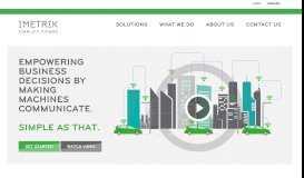 IMETRIK Simplify Things - Home page