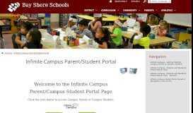 Infinite Campus Parent/Student Portal - Bay Shore Schools