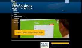 Infinite Campus Student/Parent Portal - Des Moines Public Schools
