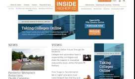 Inside Higher Ed   Higher Education News, Career Advice, Jobs