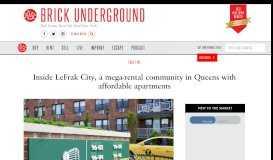 Inside LeFrak City, a mega-rental community in Queens with ...