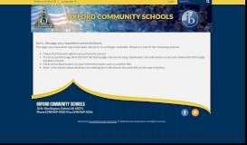 Insurance & Benefits - Oxford Community School