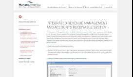 Integrated Revenue Management and Accounts Receivable System ...