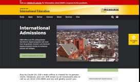 International Admissions | Center for International Education