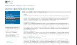 International theses - Theses - Library guides at Monash University